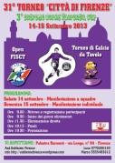 locandina Torneo Firenze